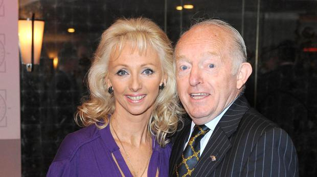Late magician and entertainer Paul Daniels with his wife Debbie McGee