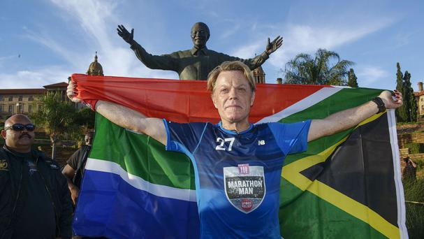 Eddie Izzard in Pretoria