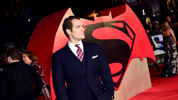 Henry Cavill attends the Batman v Superman: Dawn Of Justice European Premiere, at the Odeon and Empire Leicester Square