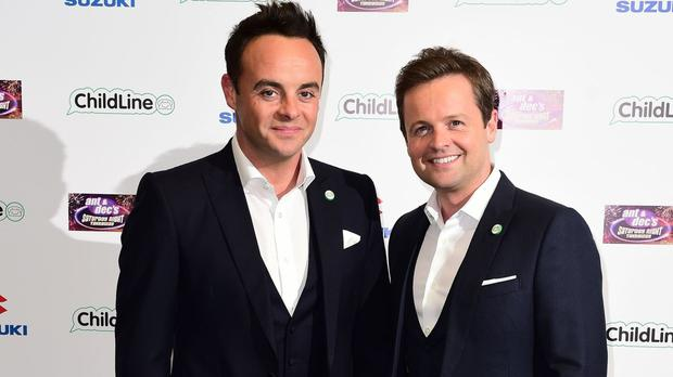 The Geordie duo are in competition with The Last Leg's Adam Hill and A League Of Their Own's Jack Whitehall for the entertainment performance crown