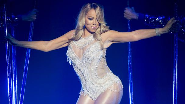 Mariah Carey performed a host of favourites at the O2 Arena