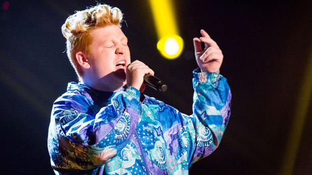 Harry Fisher has been voted off The Voice (BBC/PA Wire)