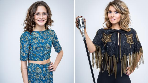 Chloe Castro, left, and Beth Morris have left The Voice