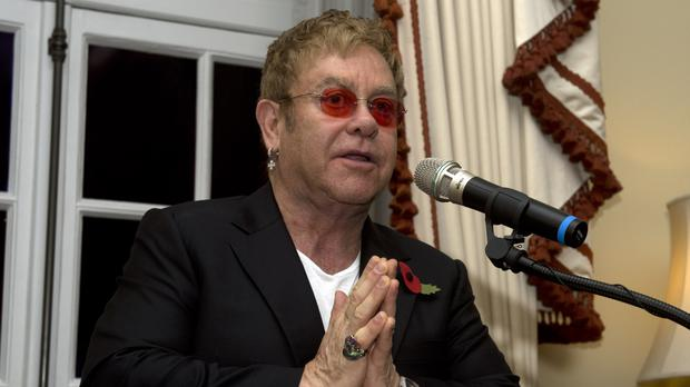 Sir Elton John issued a strongly-worded denial, saying the allegations were driven by money