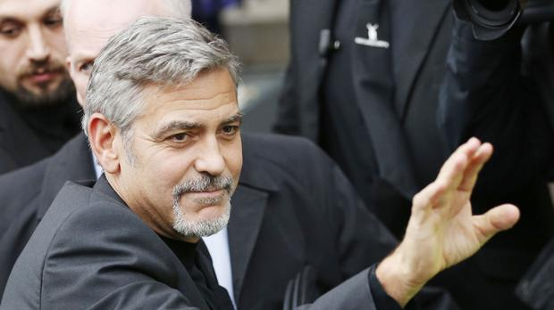 George Clooney said having an 'exclusive interview' completely fabricated is a very disturbing trend
