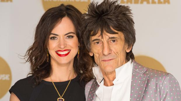 Theatre producer Sally Humphries and Ronnie Wood married in 2012