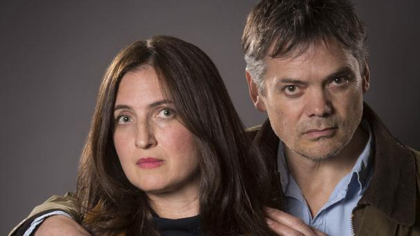 Helen Titchener, played by Louiza Patikas, and Rob Titchener, played by Timothy Watson, from the BBC Radio 4 soap The Archers (BBC/PA)