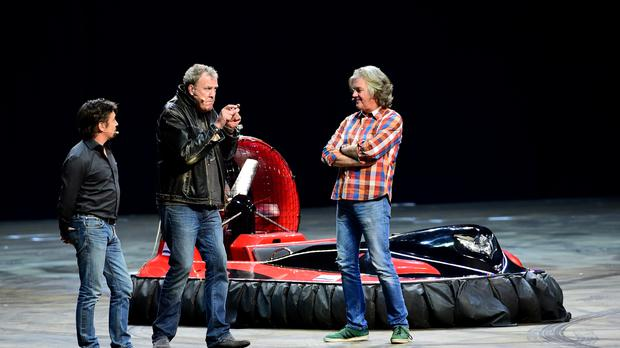 Richard Hammond, Jeremy Clarkson and James May are putting together a new show for Amazon