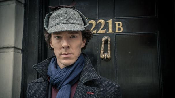 Sherlock is the most watched programme of the year so far, with 11.6 million viewers tuning in on New Year's Day (BBC/PA)