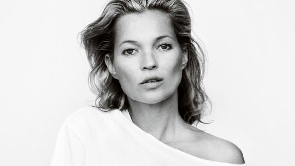 Kate Moss, photographed by Mario Testino