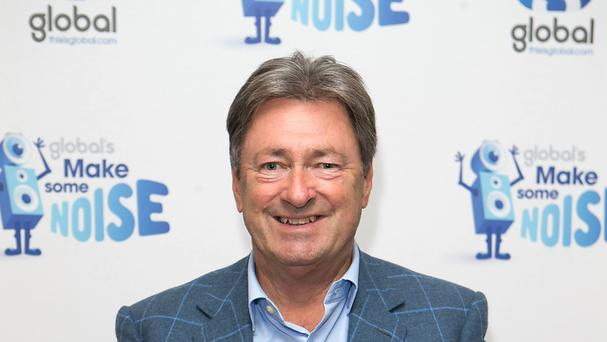 Alan Titchmarsh was airlifted to hospital