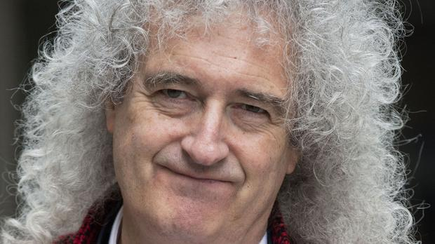 Brian May said we 'still have a society that is split between the rich and the poor'