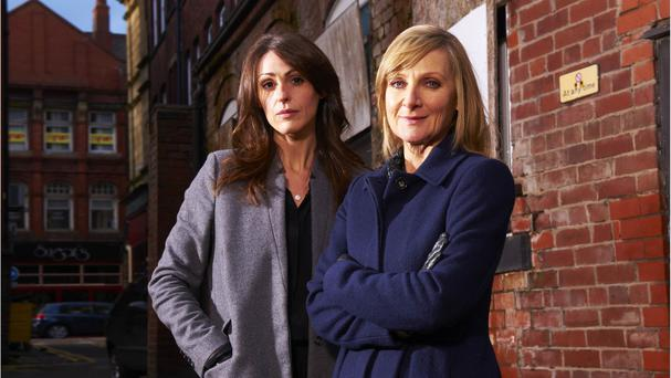 Suranne Jones, left, and Lesley Sharp star in the series, which premiered to acclaim in 2011 (ITV/PA Wire)