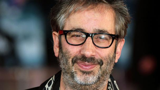 David Baddiel was one of the stars who paid tribute to Victoria Wood at the Funny Girl opening night