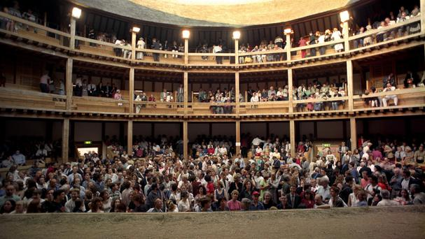 The Globe Theatre is the last stop for the actors who have toured the world with their production of Hamlet