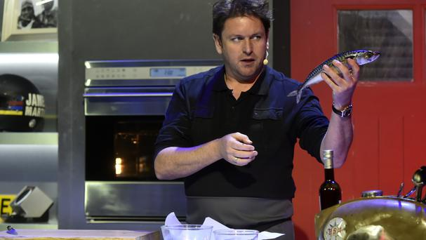 Chef James Martin will step into Eamonn Holmes' shoes next Friday to guest-host This Morning