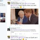 Screen grab taken from the official Twitter account of Kensington Palace of the Queen and Prince Harry appearing in a spoof video