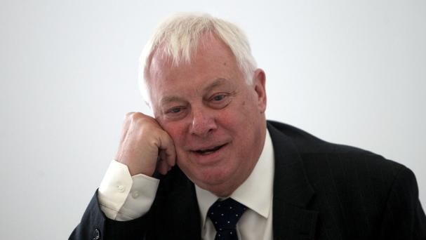 Lord Patten said it would be