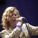 David Bowie performed at Glastonbury in 2000