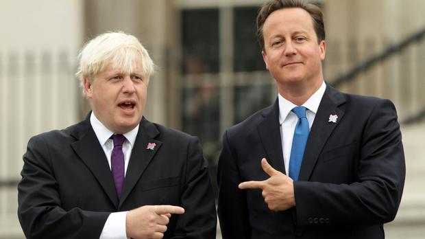 Boris Johnson and David Cameron will appear on Countryfile