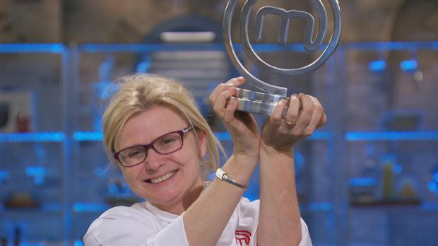 Jane Devonshire, 50, who has been crowned MasterChef Champion 2016 after seven weeks of gruelling challenges.