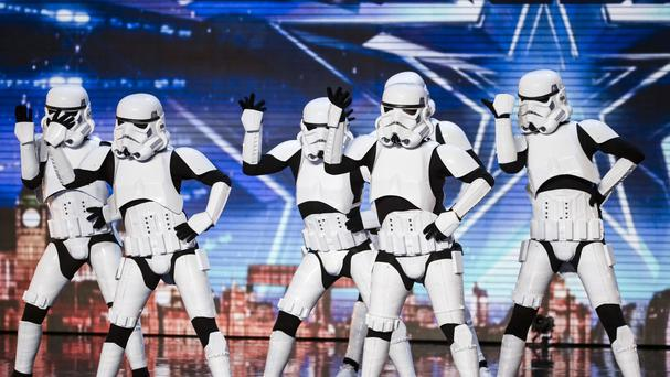 Boogie Storm on Britain's Got Talent (SYCO/THAMES TV)