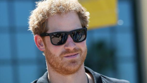 Prince Harry as he visits venues ahead of the Invictus Games 2016