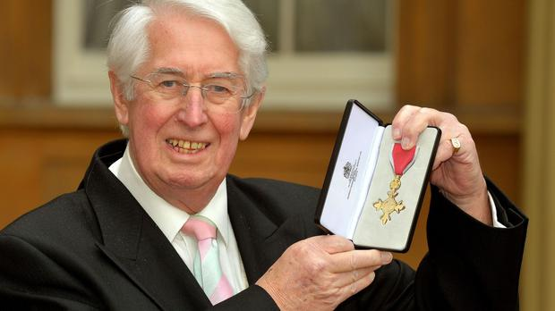 Gareth Gwenlan, pictured on the day he received his OBE