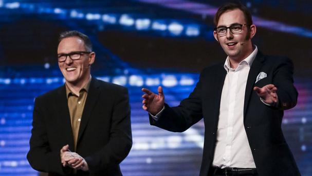 The Mimic Men on Britain's Got Talent on Saturday (Syco/Thames TV)