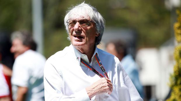 Ecclestone, chief executive of the Formula One Group which manages F1 rights, said: