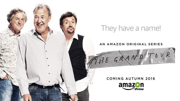 The ex-Top Gear team's new show will be called The Grand Tour