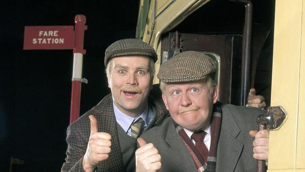 Victor (left) and Jack are to return to BBC screens in Still Game after almost a decade away (BBC/PA)