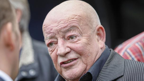 Tim Healy had been filming Benidorm when he fell ill almost a month ago, it was reported