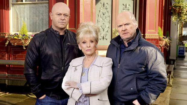Peggy Mitchell took no nonsense from trouble makers
