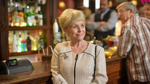 Peggy Mitchell (played by Barbara Windsor) as the beloved former Queen Vic landlady said goodbye to Albert Square for the final time, taking her own life in a heartbreaking scene.
