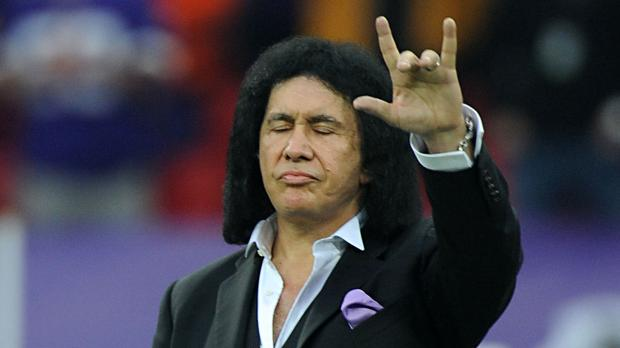 Gene Simmons was ridiculed as a child for his love of superhero comics