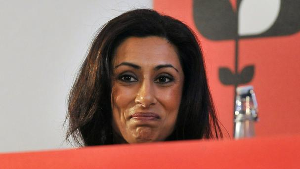 Saira Khan appeared on the Loose Women ITV show