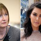 "Harriet Harman, left, called Kim Kardashian ""brave and pioneering"""