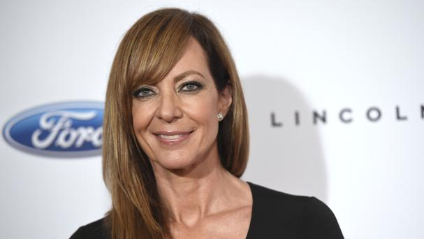 Allison Janney arrives at the 41st annual Gracie Awards Gala at the Beverly Wilshire Hotel (AP)