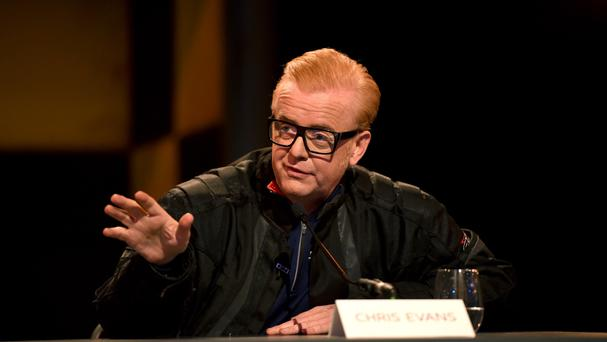 Top Gear presenter Chris Evans answers media questions