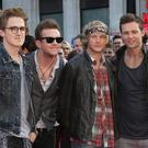 Tom Fletcher, Danny Jones, Dougie Poynter and Harry Judd of McFly