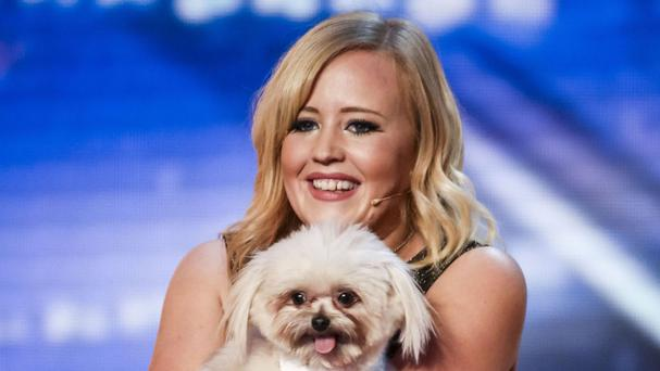 Lucy and Trip Hazard will appear in the Britain's Got Talent final on Saturday (Syco/Thames TV)