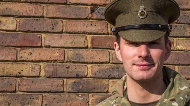 Lance Corporal Richard Jones has become the first illusionist to win Britain's Got Talent (MoD/PA Wire)