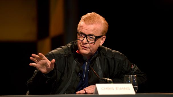 Chris Evans had a light-hearted dig at Jeremy Clarkson as the revamped Top Gear launched