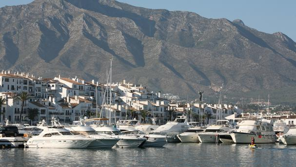The incident took place in Puerto Banus