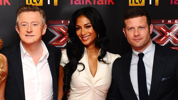 Louis Walsh, Nicole Scherzinger and Dermot O'Leary will return to the show