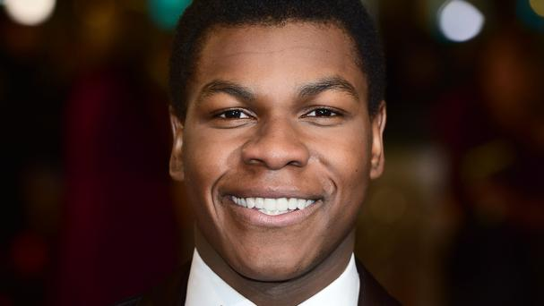 John Boyega shot to fame as stormtrooper Finn in The Force Awakens