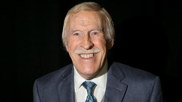 Sir Bruce Forsyth, 88, pulled out of his wife's business launch at Fortnum and Mason due to 'mobility issues'