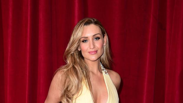 Catherine Tyldesley tied the knot in Cheshire