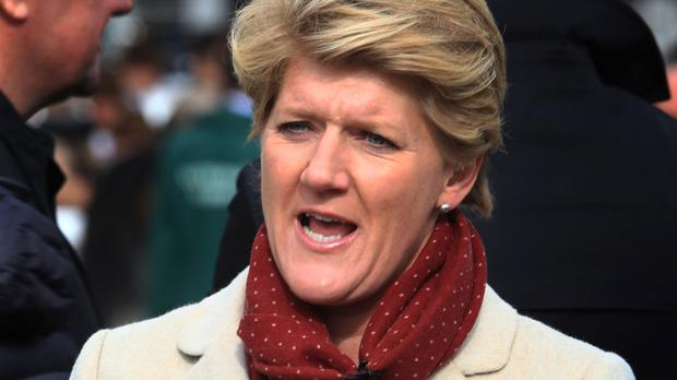 Clare Balding will be joined by two expert guests each evening